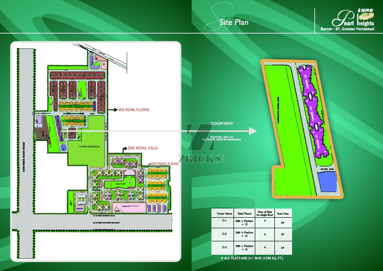 Srs Pearl Heights Sector 87 Kheri Jasana Road Faridabad