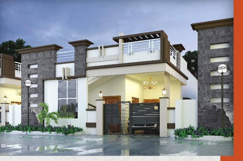 1 BHK Villa For Sale in Queens Valley Project Bangalore