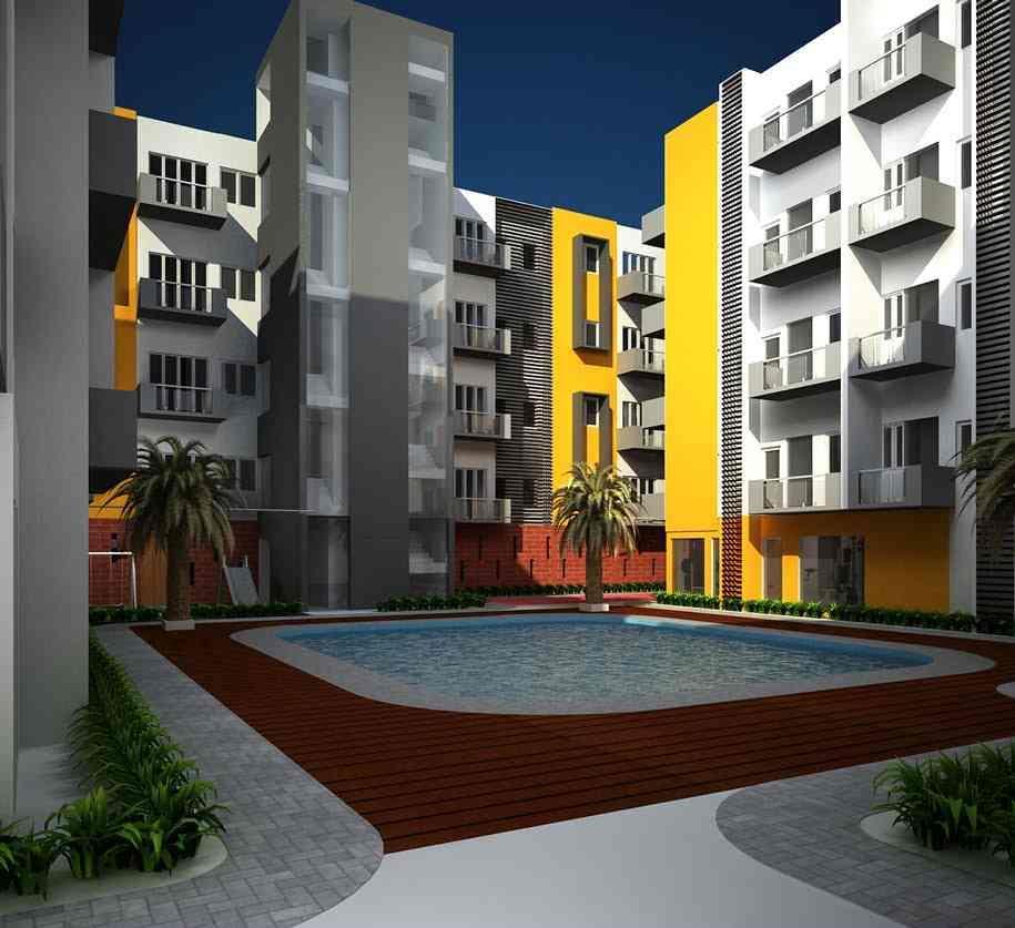 Urban tree atrium perungudi rajiv gandhi salai chennai for Residential atrium