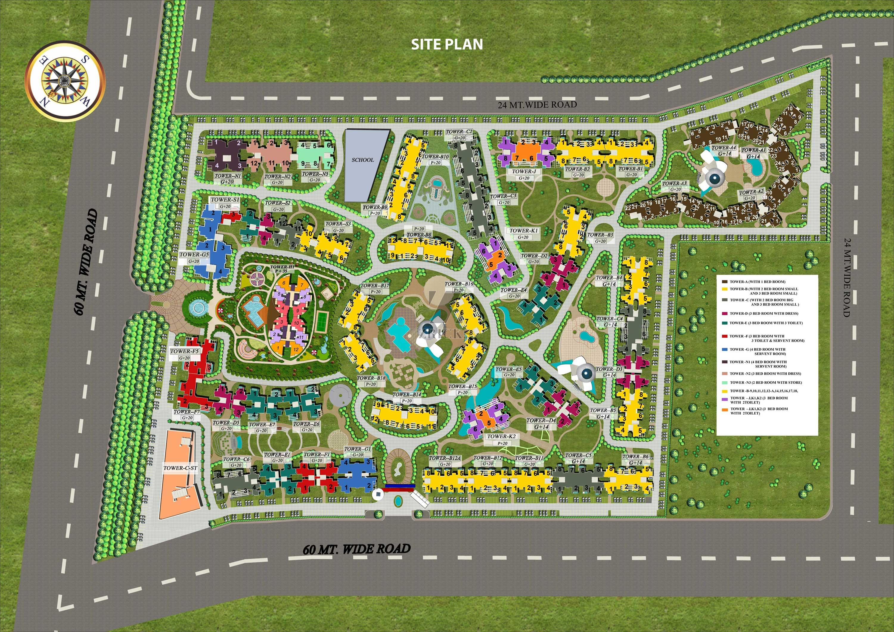 Supertech Ecovillage I Sector 1 Noida Greater Noida Link