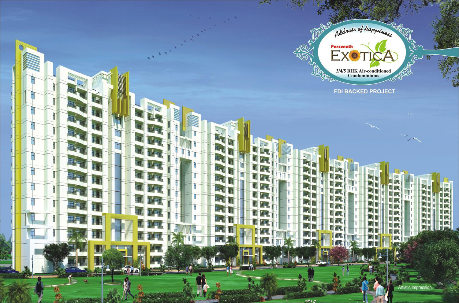 Parsvnath Exotica Home Loan