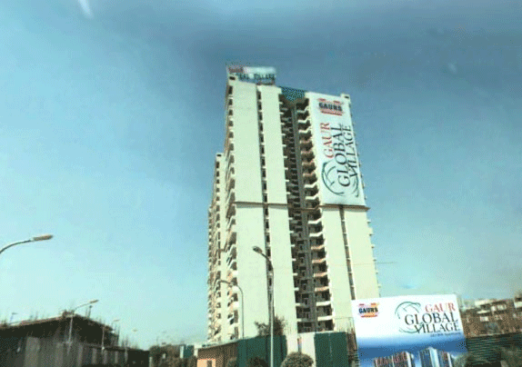 Gaur Global Village Commercial Complex