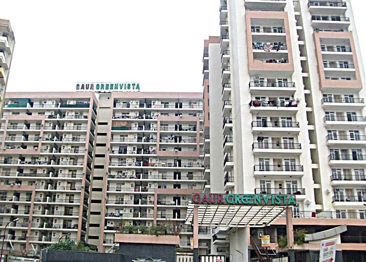 Gaur Green Vista II Commercial Complex