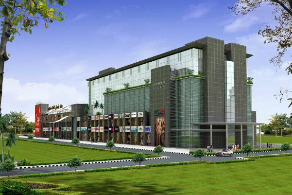 M2K Corporate Park Shopping Plaza