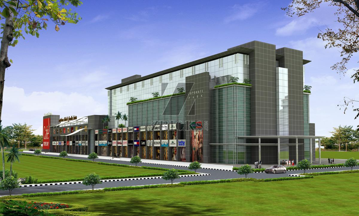 Commercial building design commercial building subhash - M2k Corporate Park Shopping Plaza Sector 51 Netaji Subhash Marg Gurgaon Zricks Com