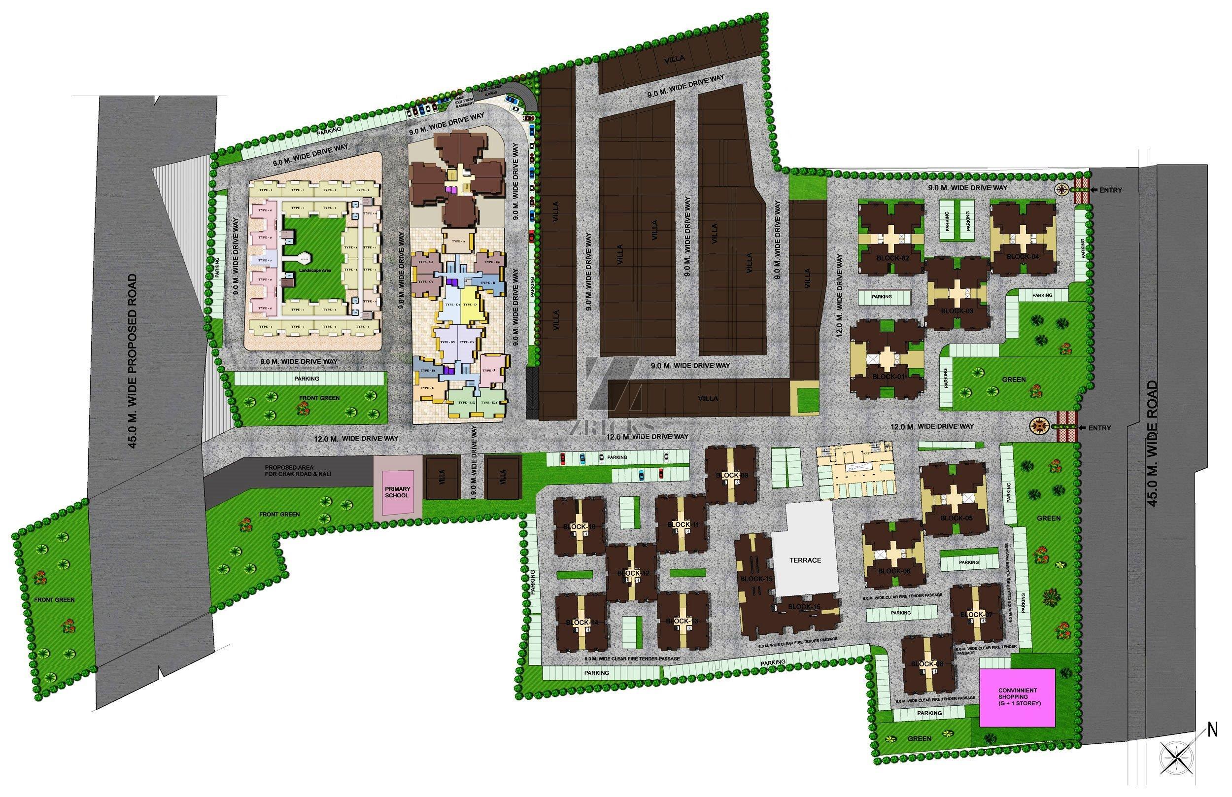 Landcraft river heights phase i raj nagar extn delhi for Landcraft homes floor plans