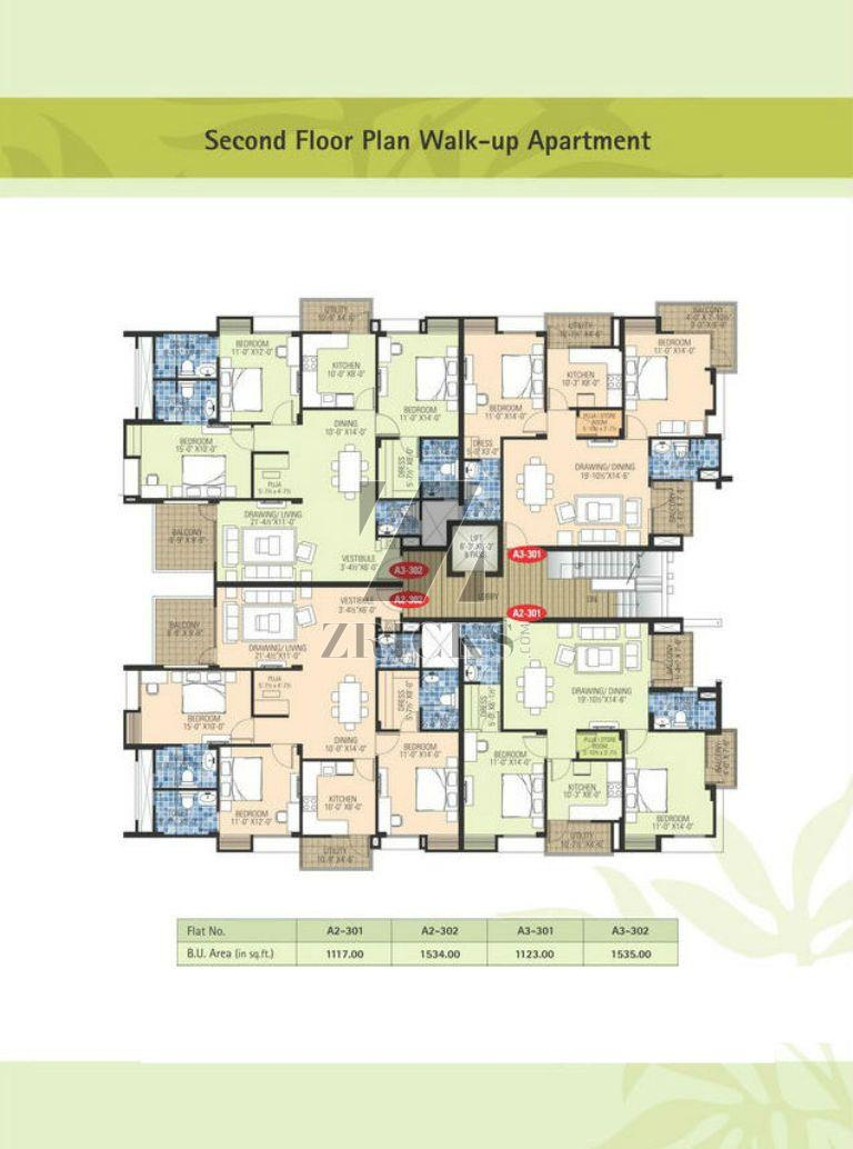 Ashadeep Green Acres Gulmohar Walk Up Apartments