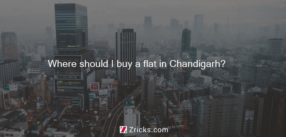 Where should I buy a flat in Chandigarh?