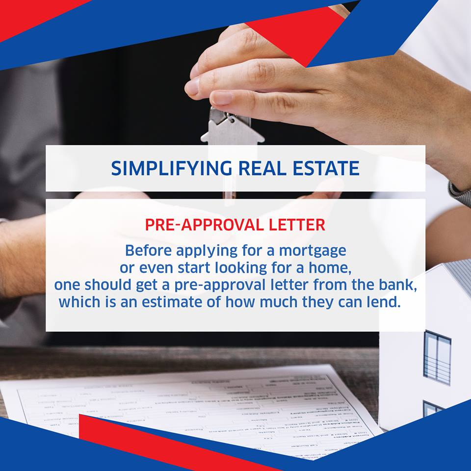 What is Pre Approval Letter