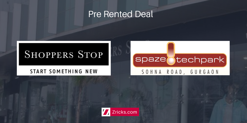 Buy Shoppers Stop Pre Rented Deal in Spaze I Tech Park Gurgaon