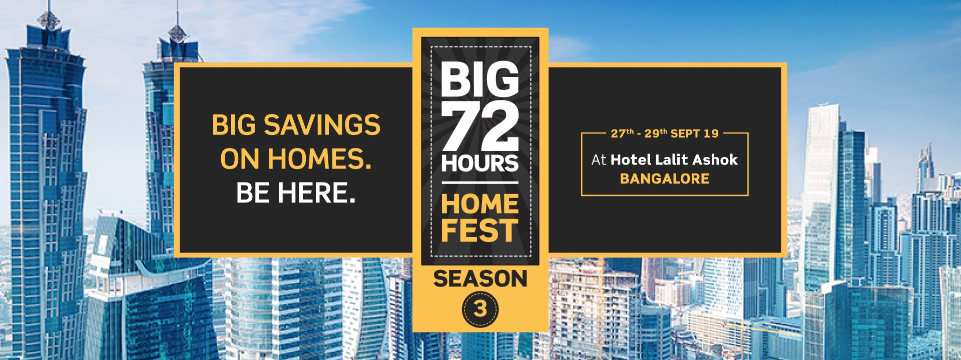 Puravankara Big 72 Hours Home Fest on 27 29 Sept 2019 in Bangalore Photo