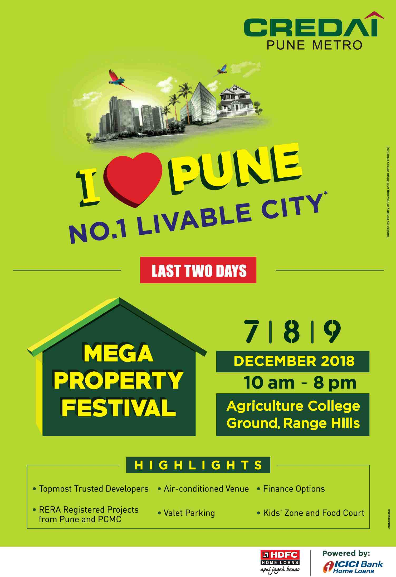CREDAI presents Mega Property Festival 2018 in Pune