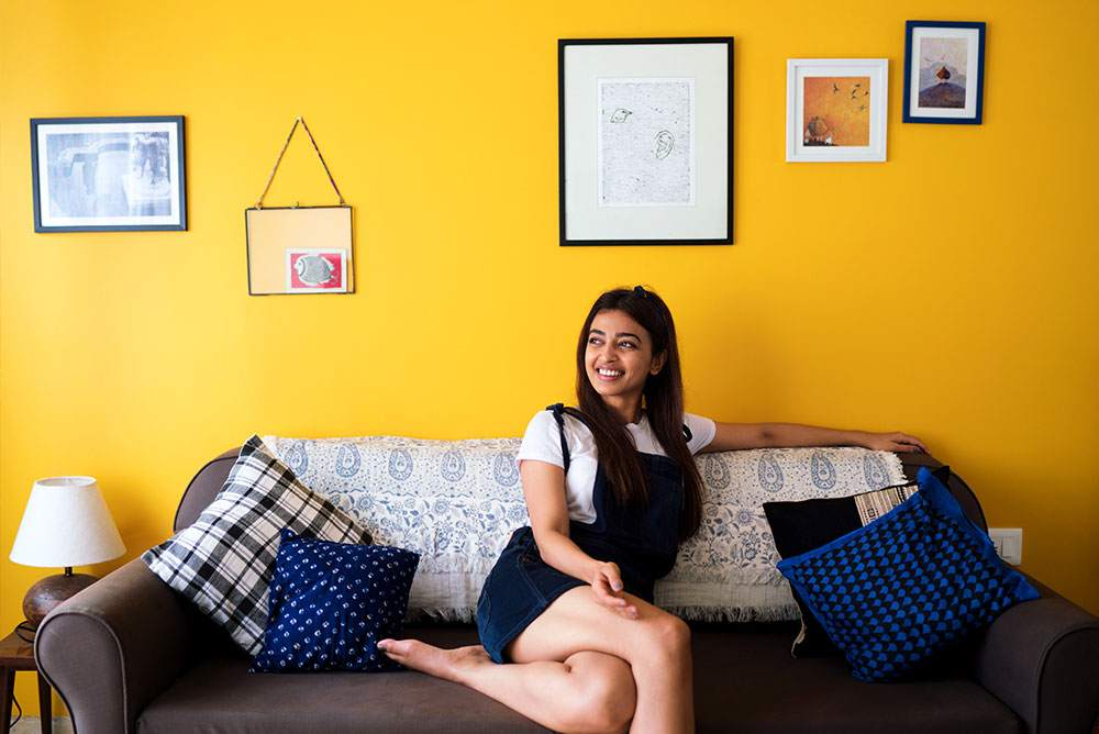 Radhika Apte s Colourful Home in Mumbai