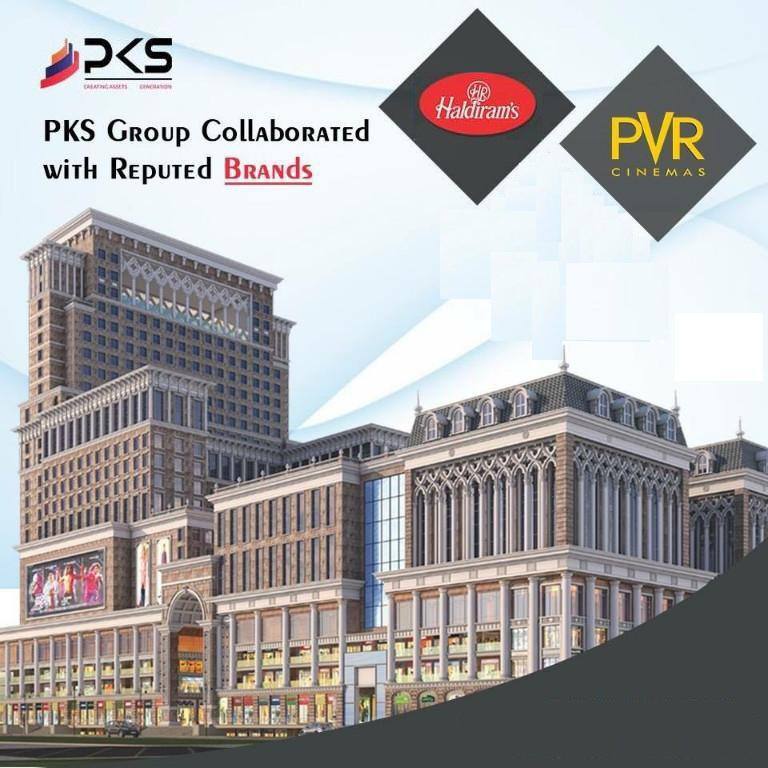 PKS Town Central collaborated with PVR Cinemas Haldirams in Noida Extension