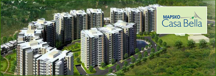Live in the most exclusive residence and enjoy your life at Mapsko Casa Bella in Gurgaon