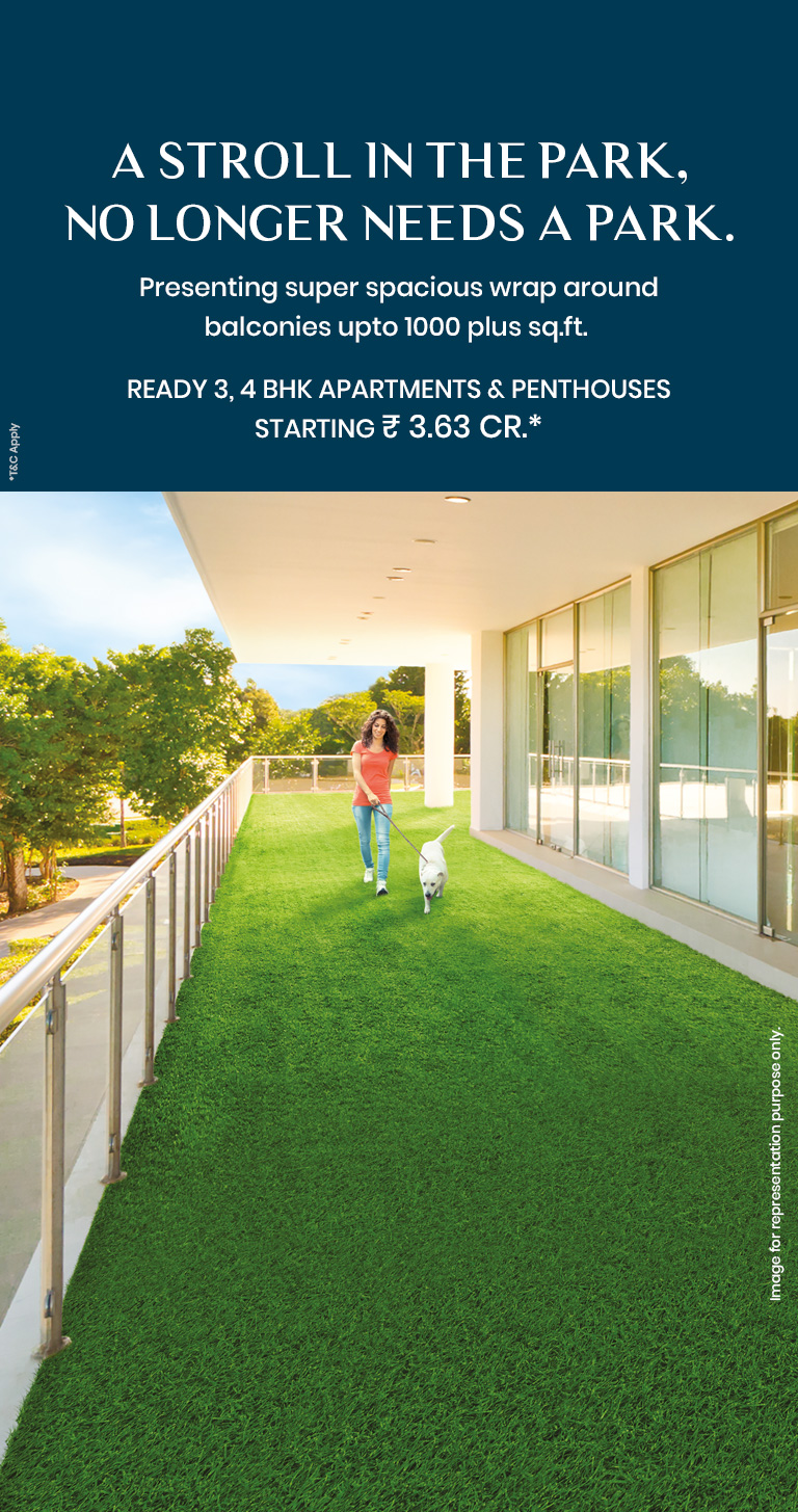 Ready 3 4 BHK apartments and penthouses Rs 3 63 Cr at Mahindra Luminare Gurgaon Photo