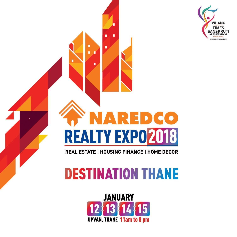 Naredco Brings 1st Ever Realty Expo 2018 At Upvan Thane Zricks Com