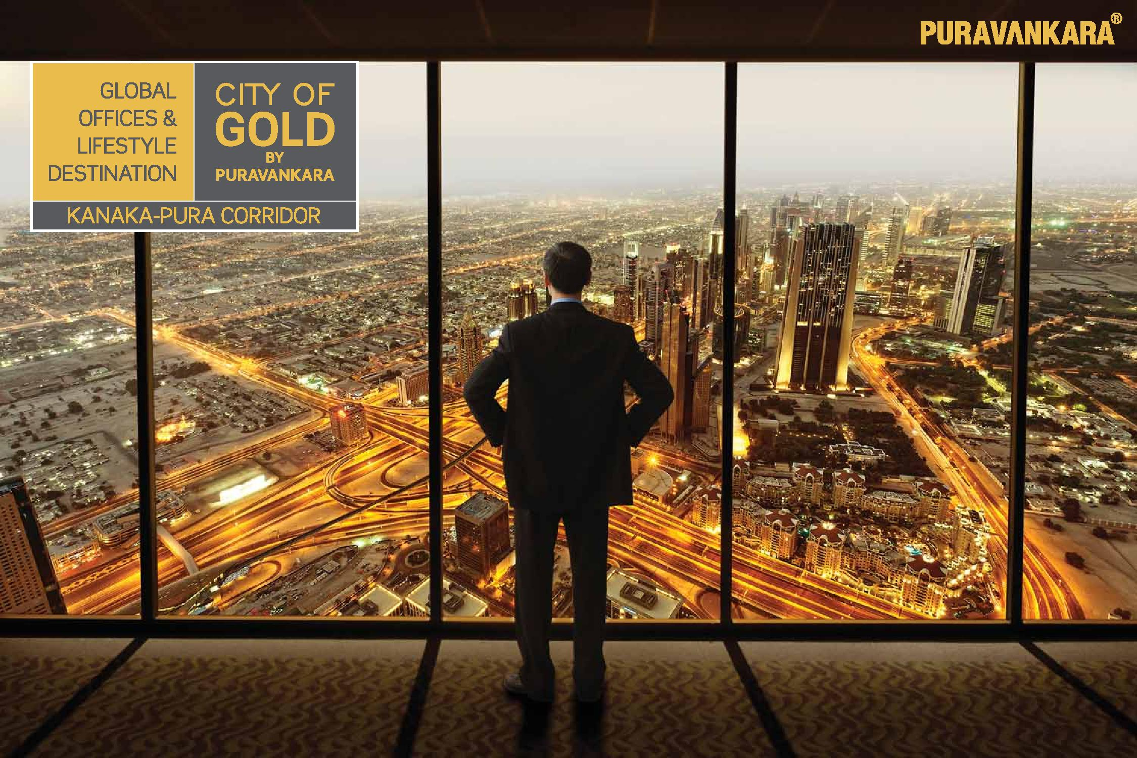 Buy your dream home with Purva City of Gold
