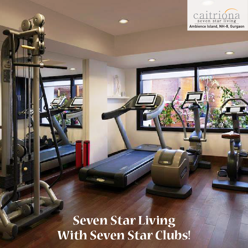 A club facility that boasts of true seven star features awaits you at Ambience Caitriona