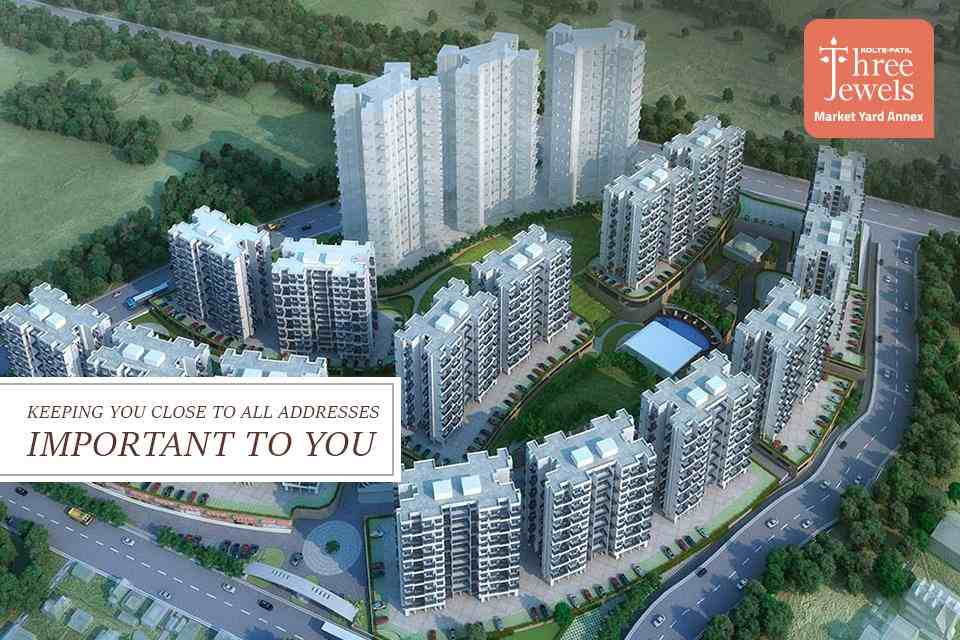 Live in Kolte Patil Three Jewel and stay close to all the important addresses to you