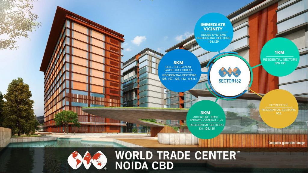 Get 12 Assured Return and 9 Lease Guarantee at WTC CBD Sector 132 Noida