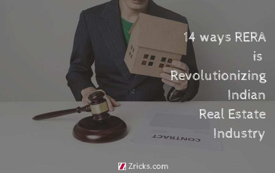 14 ways RERA is Revolutionizing Indian Real Estate Industry