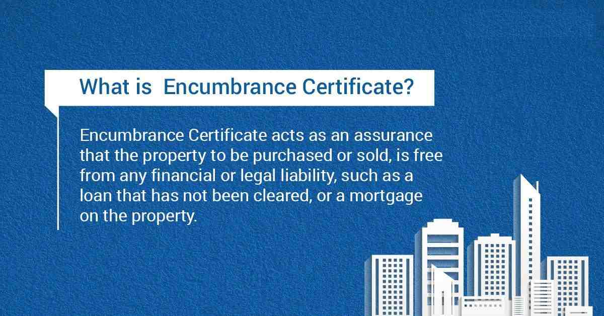 What is Encumbrance Certificate