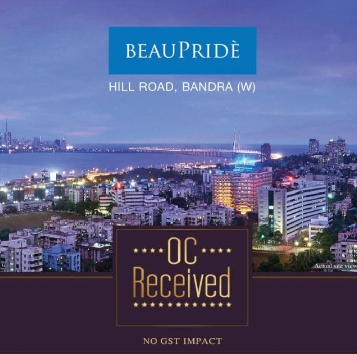 Sheth BeauPride offers NO GST Homes with OC Received in Bandra West Hill Road Mumbai