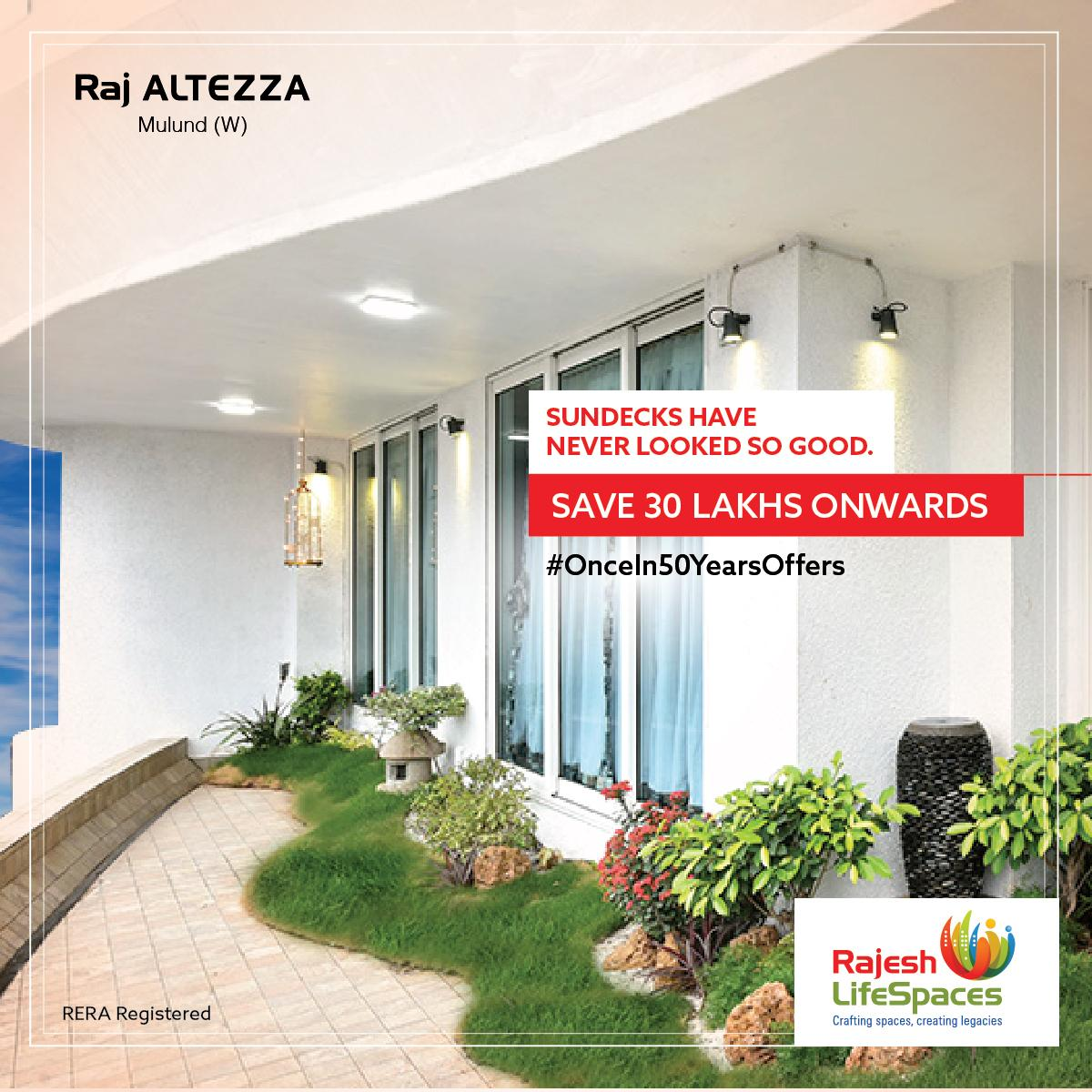 An Undulating Sundeck In Every 2 3 Bhk Home Now Available