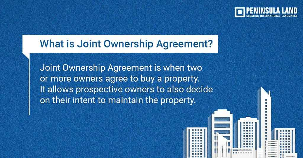 What Is Joint Ownership Agreement Zricks Com