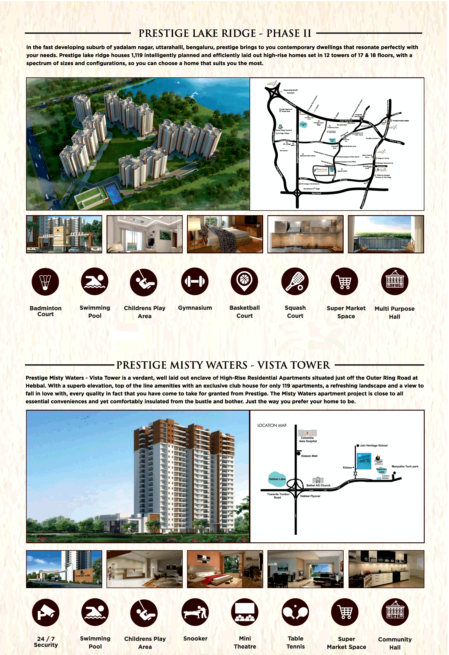 Introducing phase 2 at Prestige Projects in Bangalore