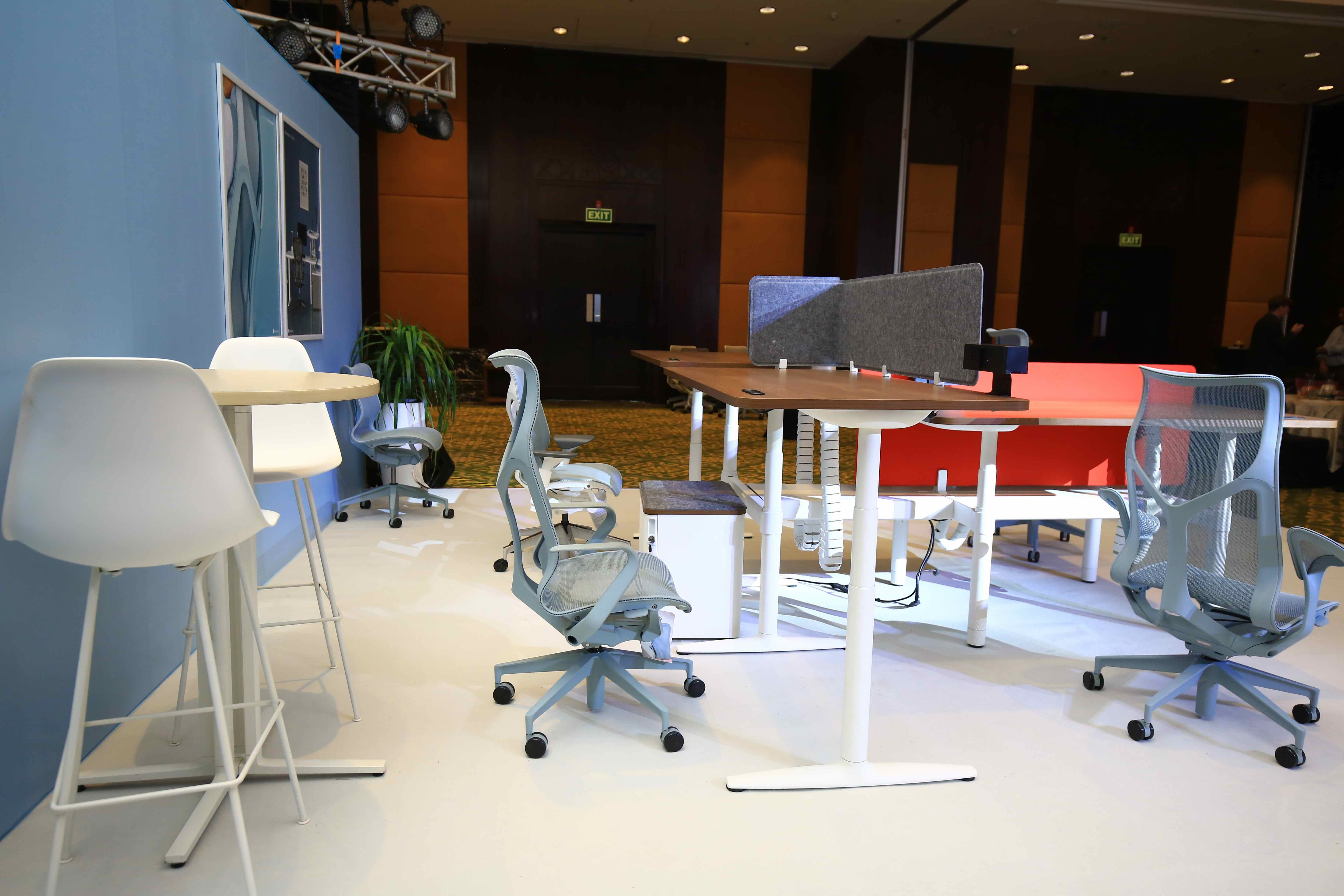 Herman Miller launches Atlas Office Landscape and Cosm Chair for India market Photo