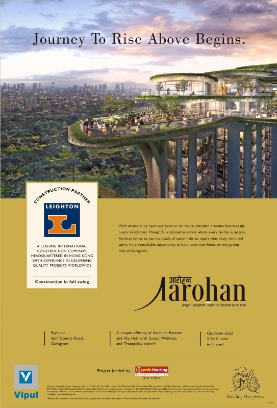 Vipul Group signs Leighton as Construction Partner for Aarohan project