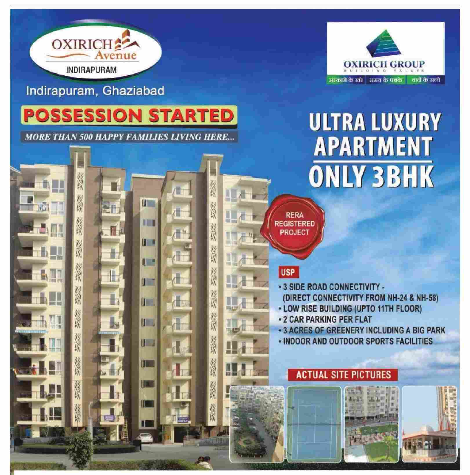 Apartment Ad: Live In Ultra Luxury Apartments At Oxirich Avenue In
