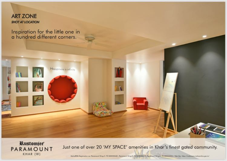 Presenting Art Zone That Will Inspire The Little One At Rustomjee