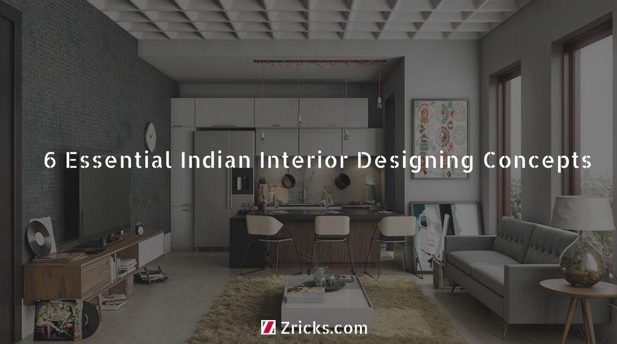 6 Essential Indian Interior Designing Concepts