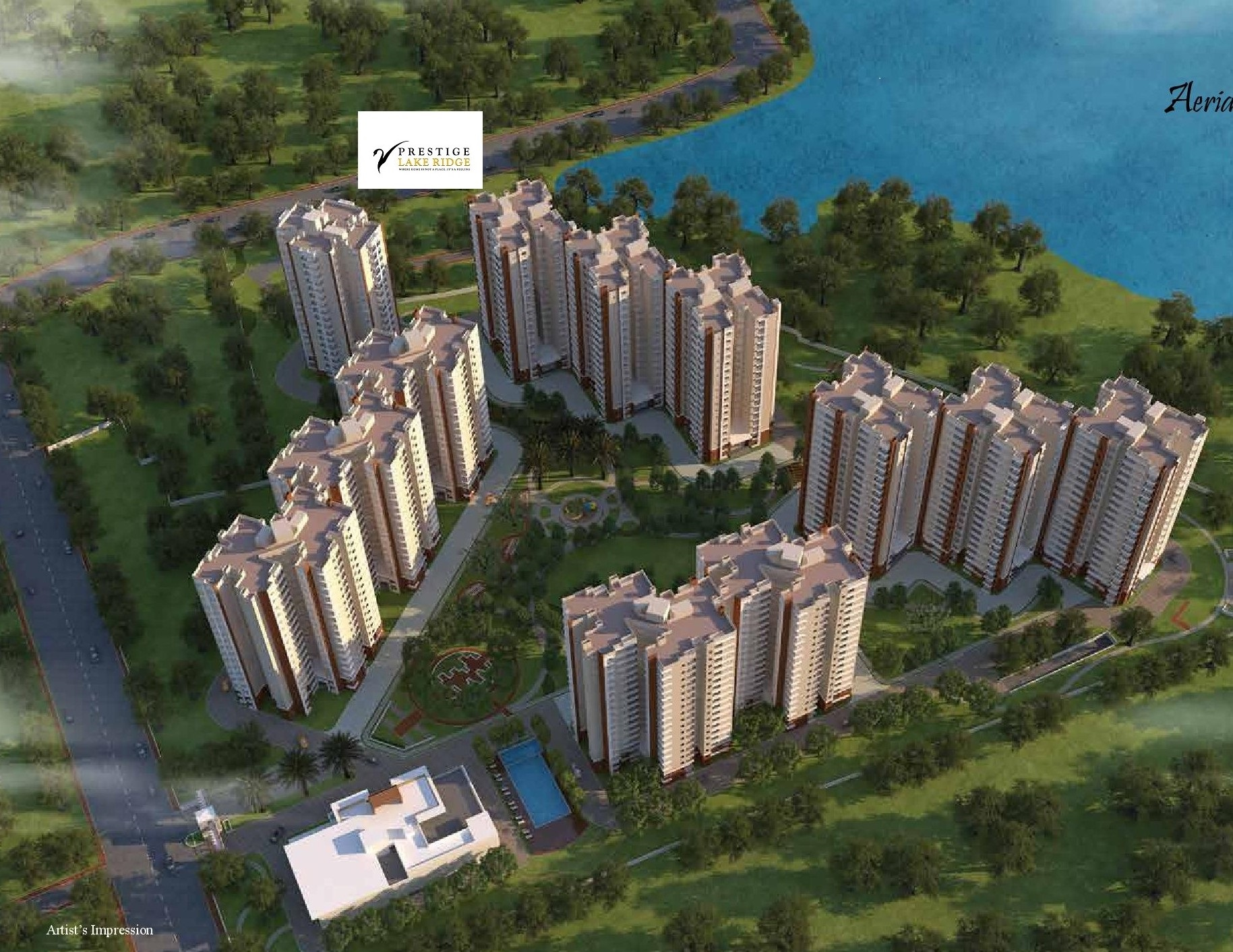 Prestige Lake Ridge is full of interesting amenities redefine luxury peace and tranquillity Photo