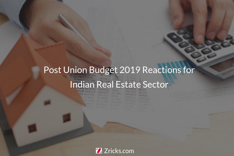 Post Union Budget 2019 Reactions for Indian Real Estate Sector