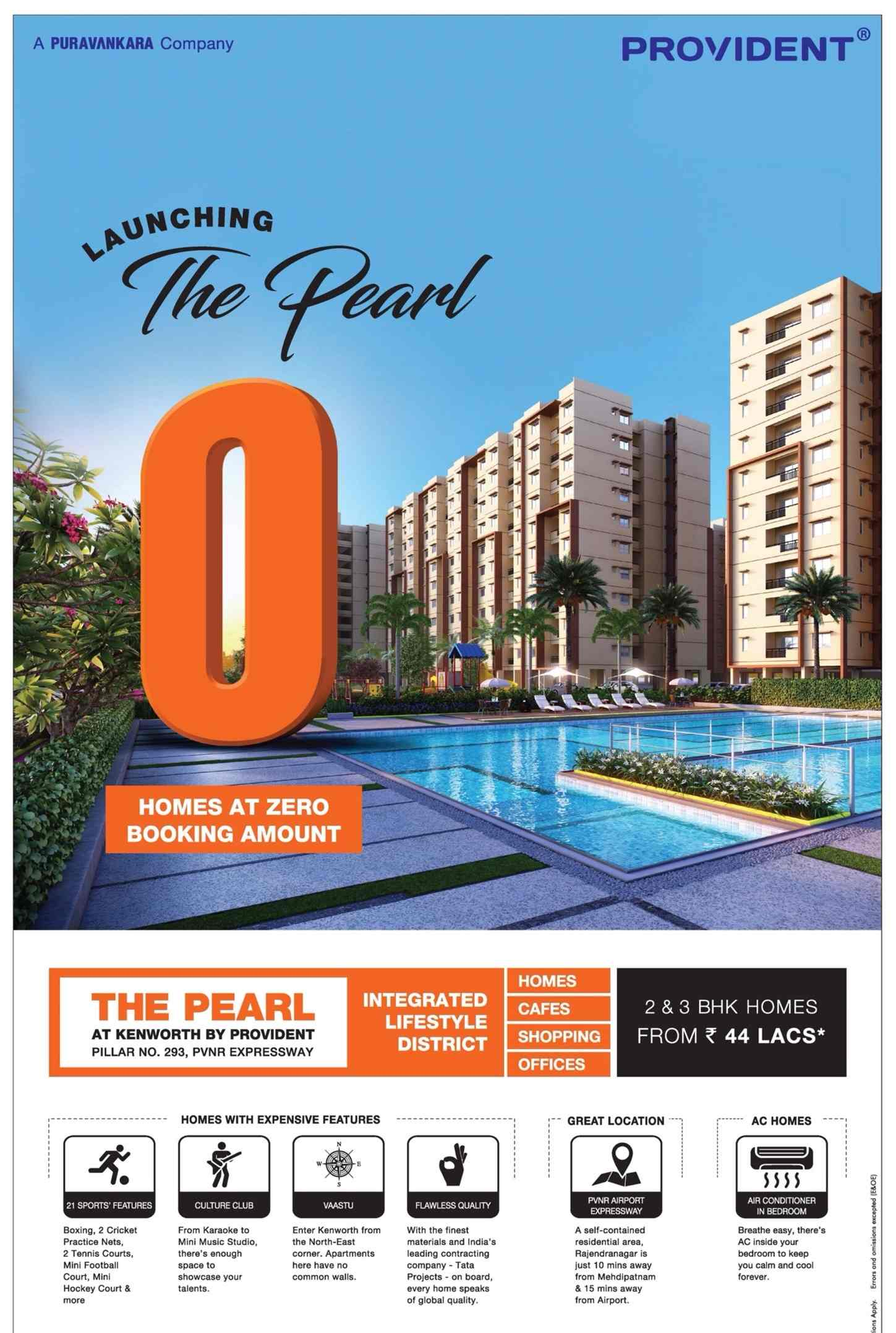 Launching The Pearl at Kenworth by the Provident in Hyderabad