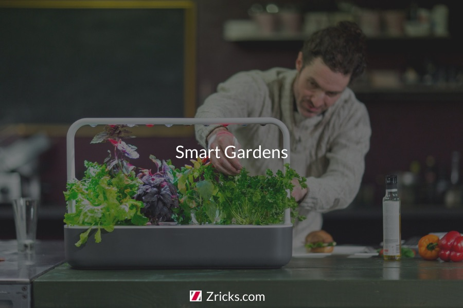 Types of Smart Gardens Photo