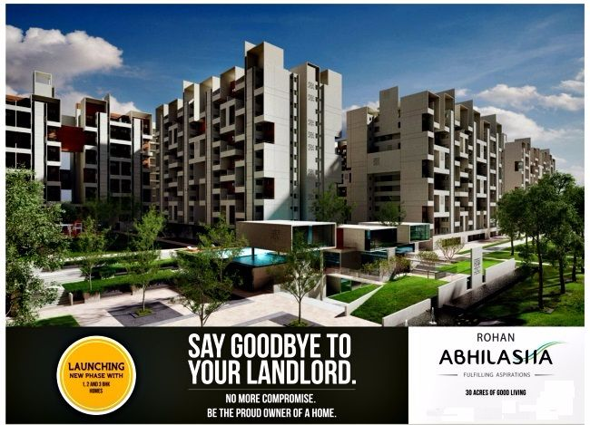 Say goodbye to your landlord and be the proud owner of home in Rohan Abhilasha