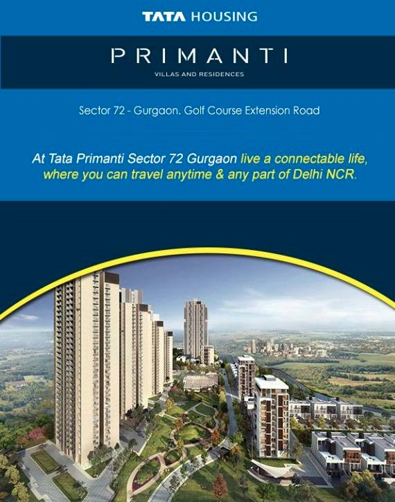 Live a connectable life at Tata Primantia and travel anytime and any part of Delhi NCR