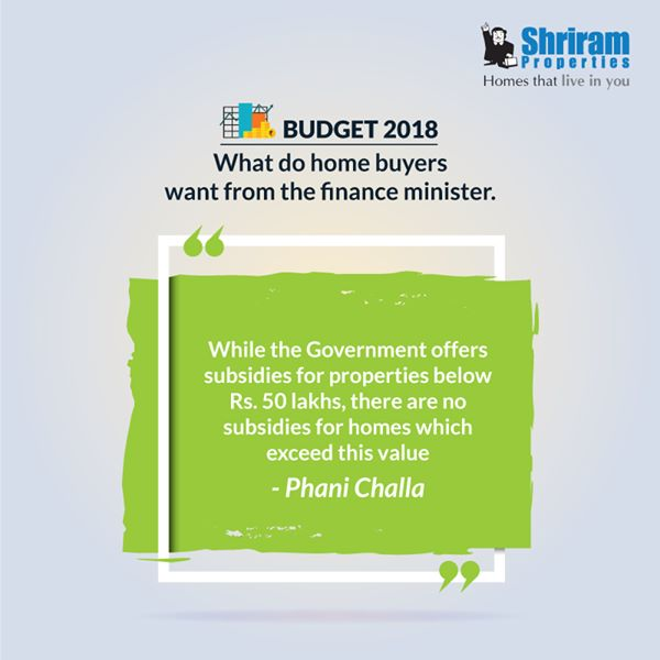 Budget 2018 What do home buyers want from the finance minister Photo