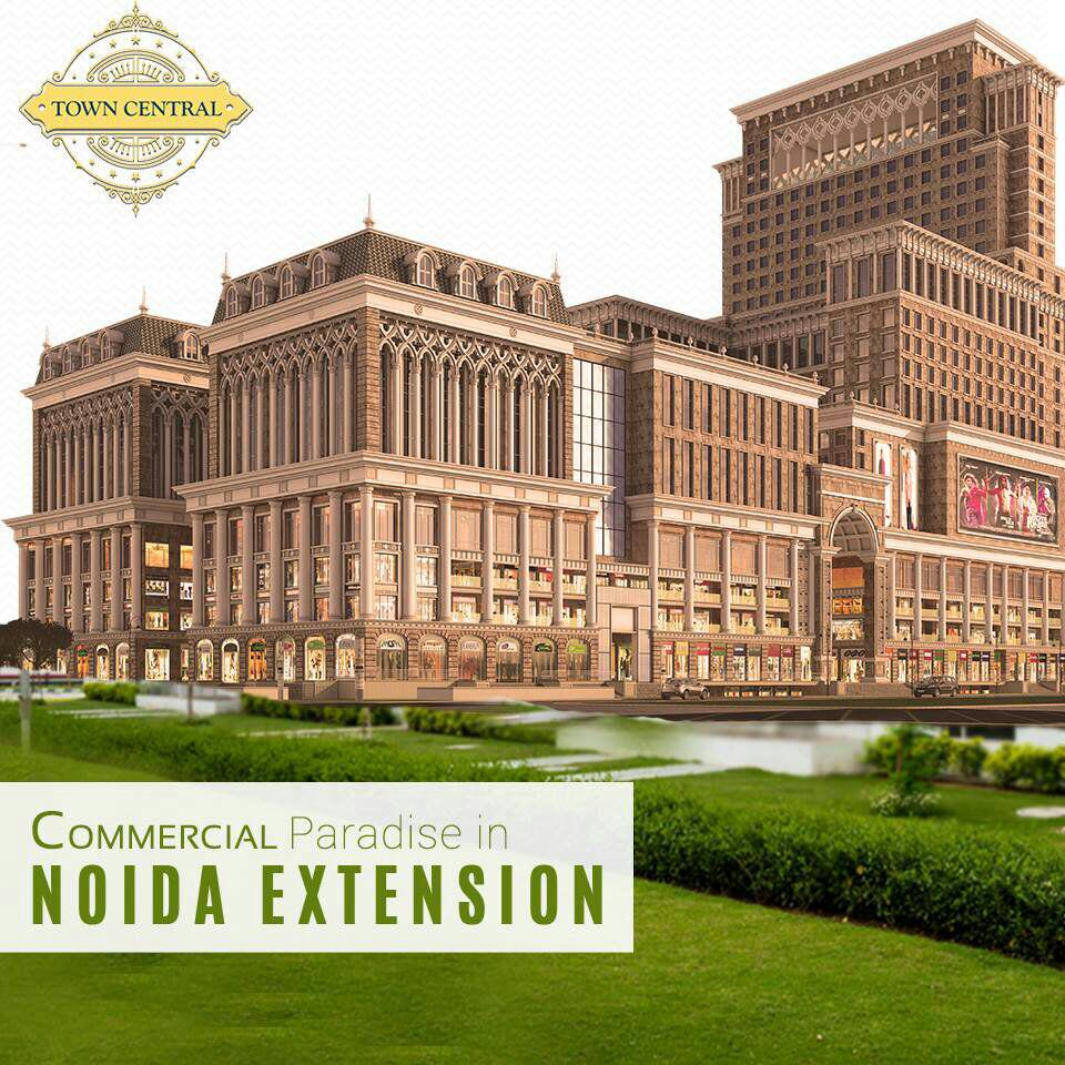 PKS Town Central Commercial paradise with world class regal design structural ambience in Noida