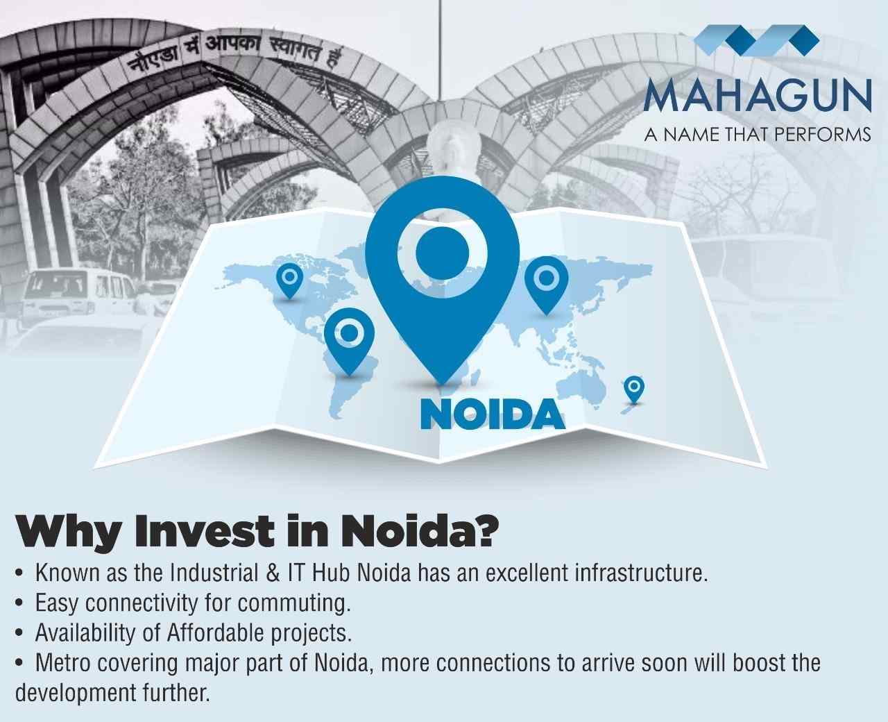 Why invest in Noida