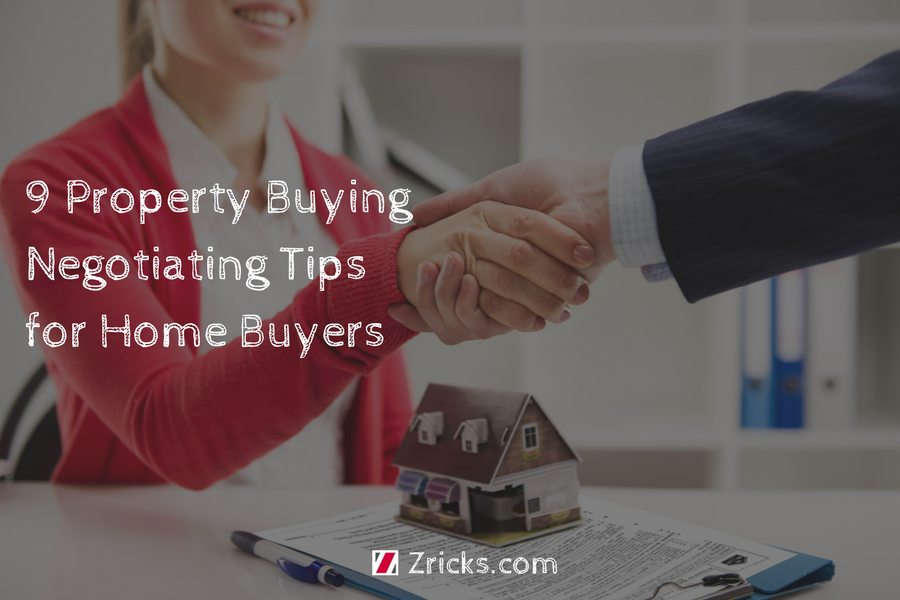9 Property Buying Negotiating Tips for Home Buyers