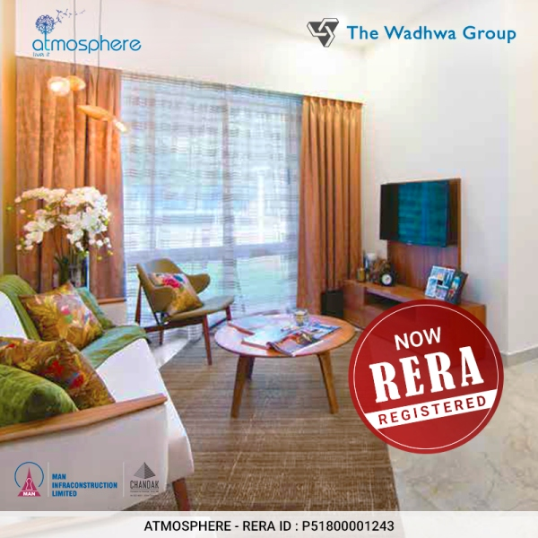 The Wadhwa Atmosphere is now MahaRERA Registered