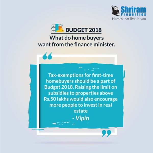 Budget 2018 What do home buyers want from the finance minister