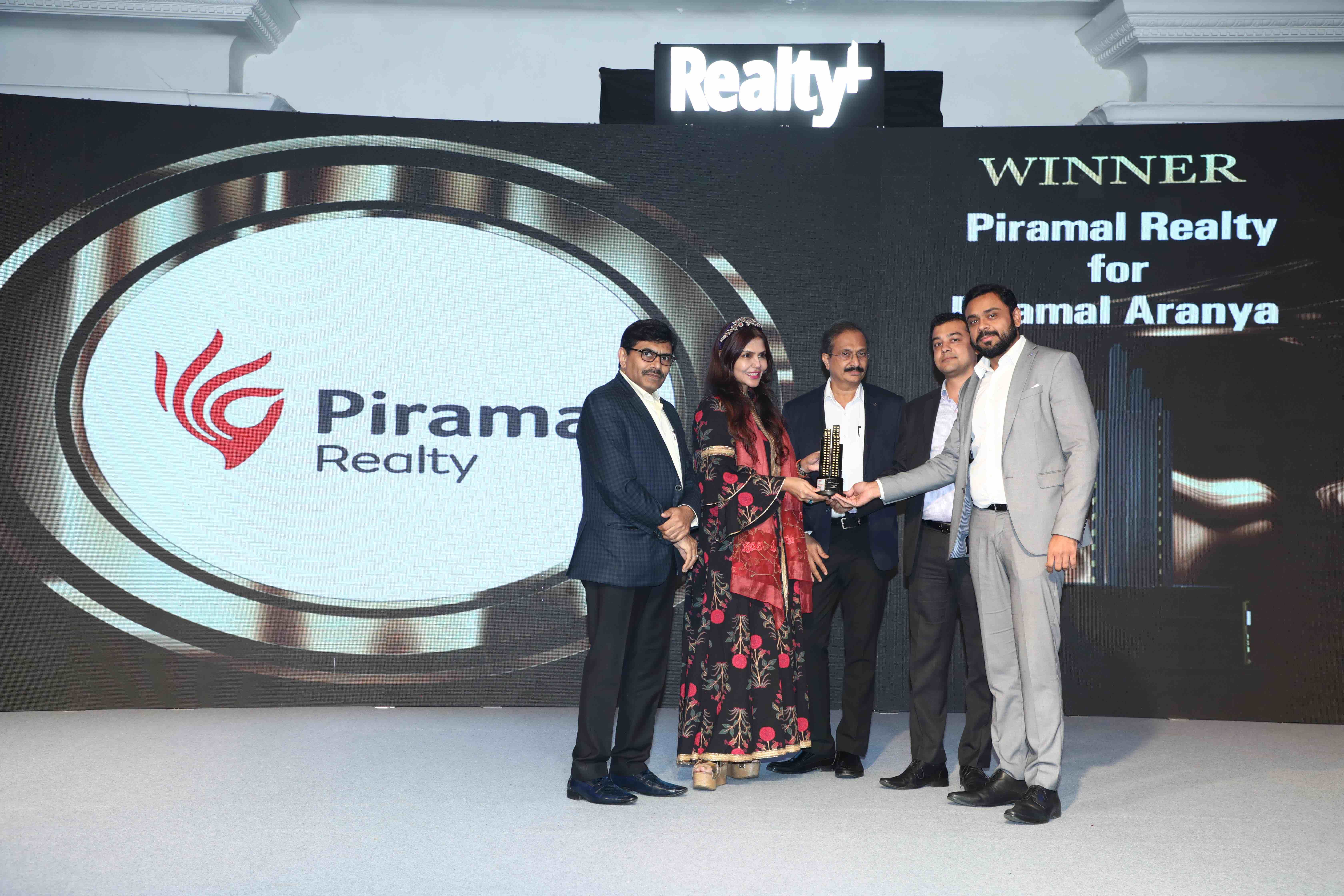 Piramal Aranya won Best Design Project of the year at Realty Plus Awards 2019