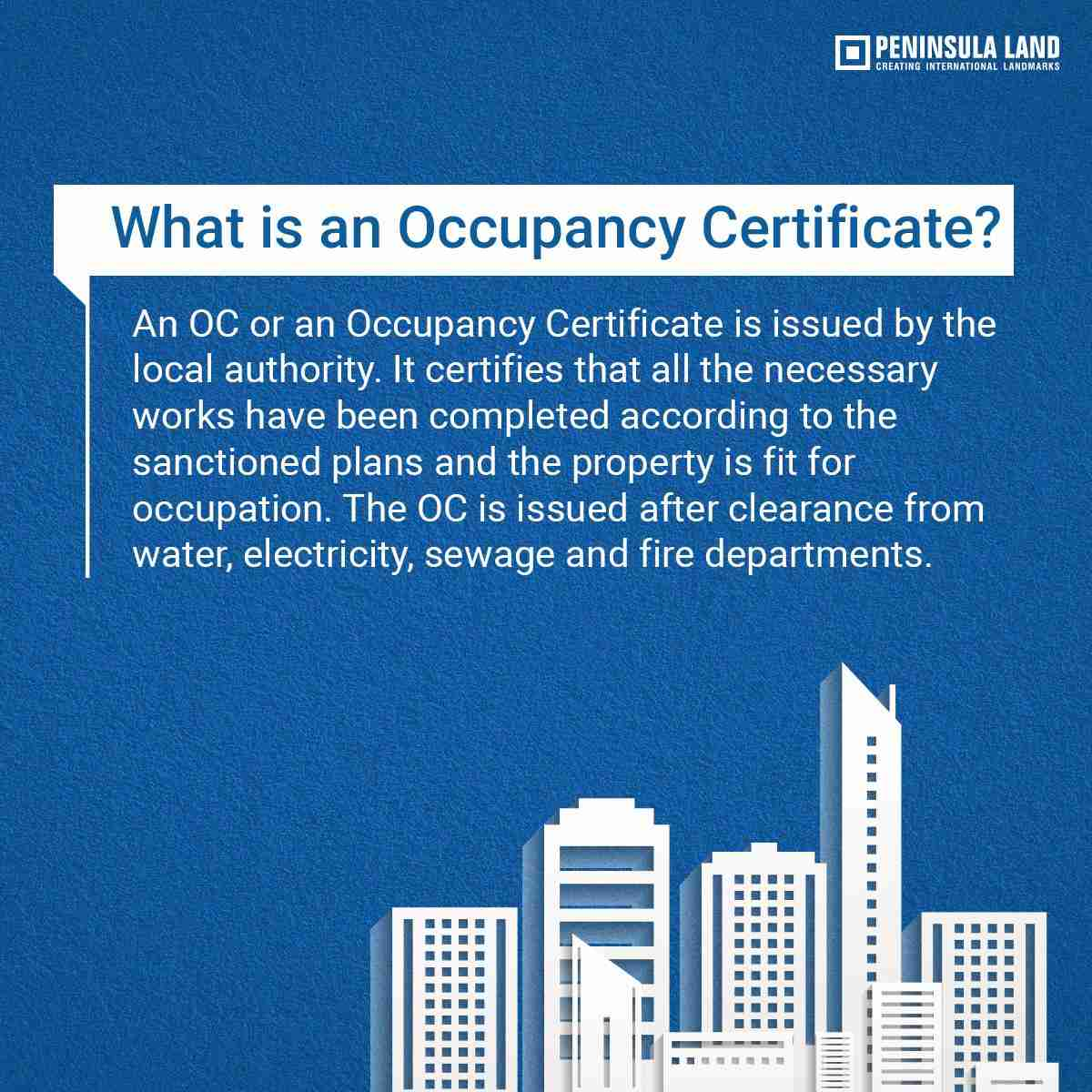 What is occupancy certificate zricks what is occupancy certificate yadclub Choice Image